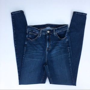 TOPSHOP Moto Super High Rise Skinny Jeans Size 32